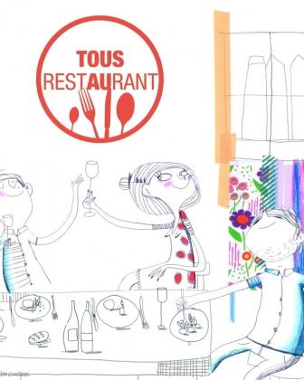 Du 18 septembre au 1er octobre, Tous au restaurant règle l'addition de ton invité.