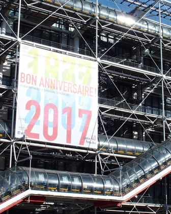 Le Centre Pompidou se transforme en club éphémère pour ses 40 ans