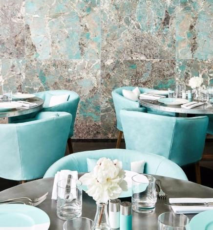 Le magasin Tiffany de Manhattan inaugure le Blue Box Café
