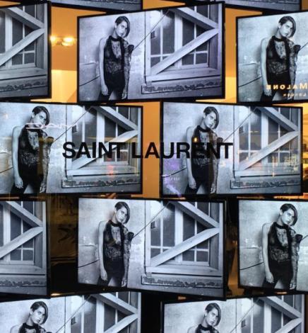 Saint Laurent s'installe chez colette pour une collab' exclusive avant la fermeture.