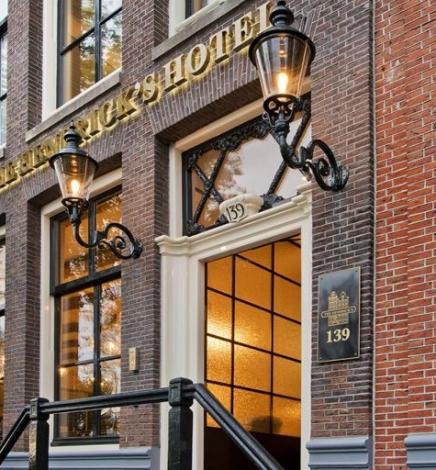 The Hendrick's, l'hôtel-boutique de charme d'Amsterdam