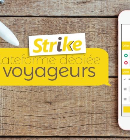 Strike, la start-up qui réduit le prix du billet d'avion grâce aux kilos disponibles