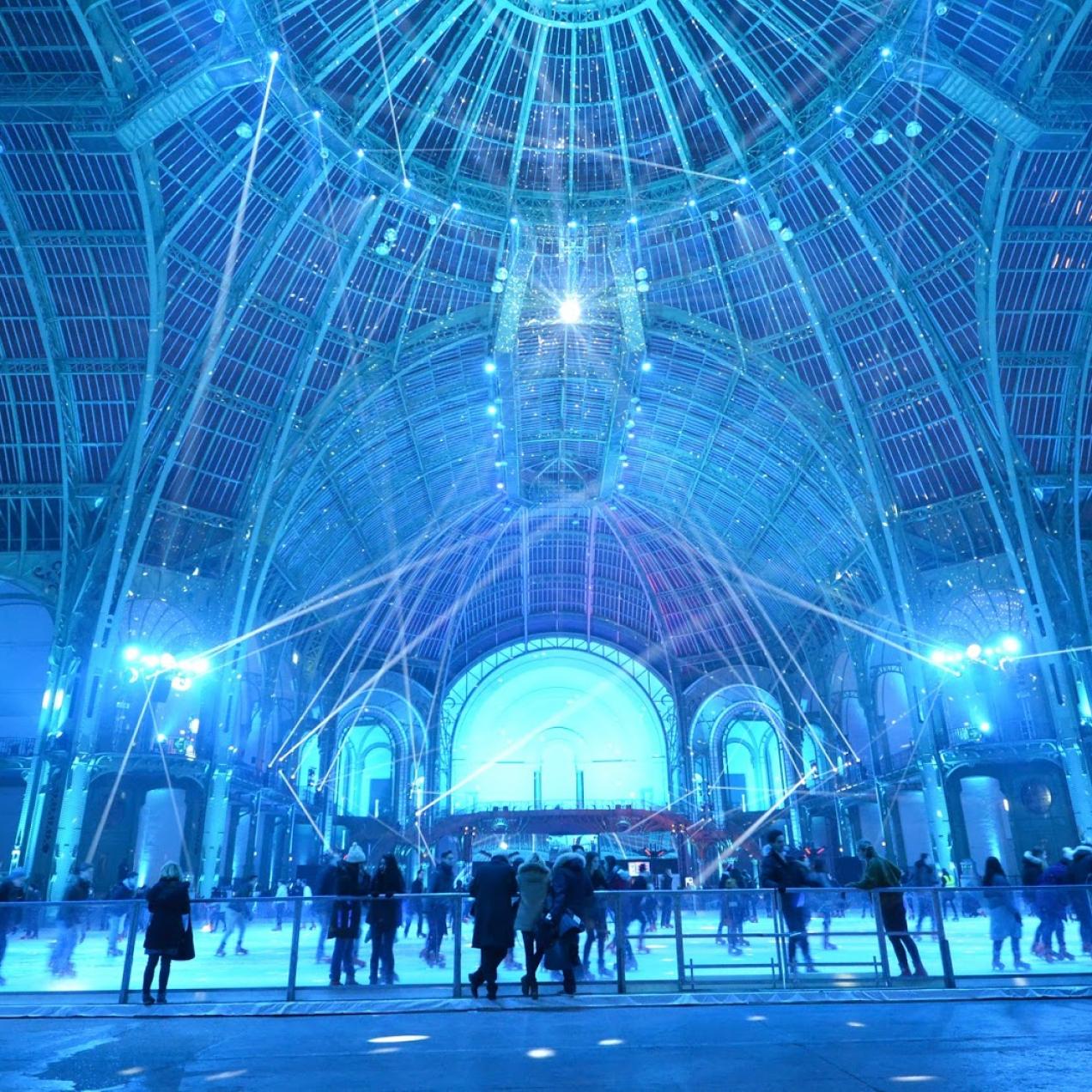 La plus grande patinoire indoor au monde est de retour au Grand Palais