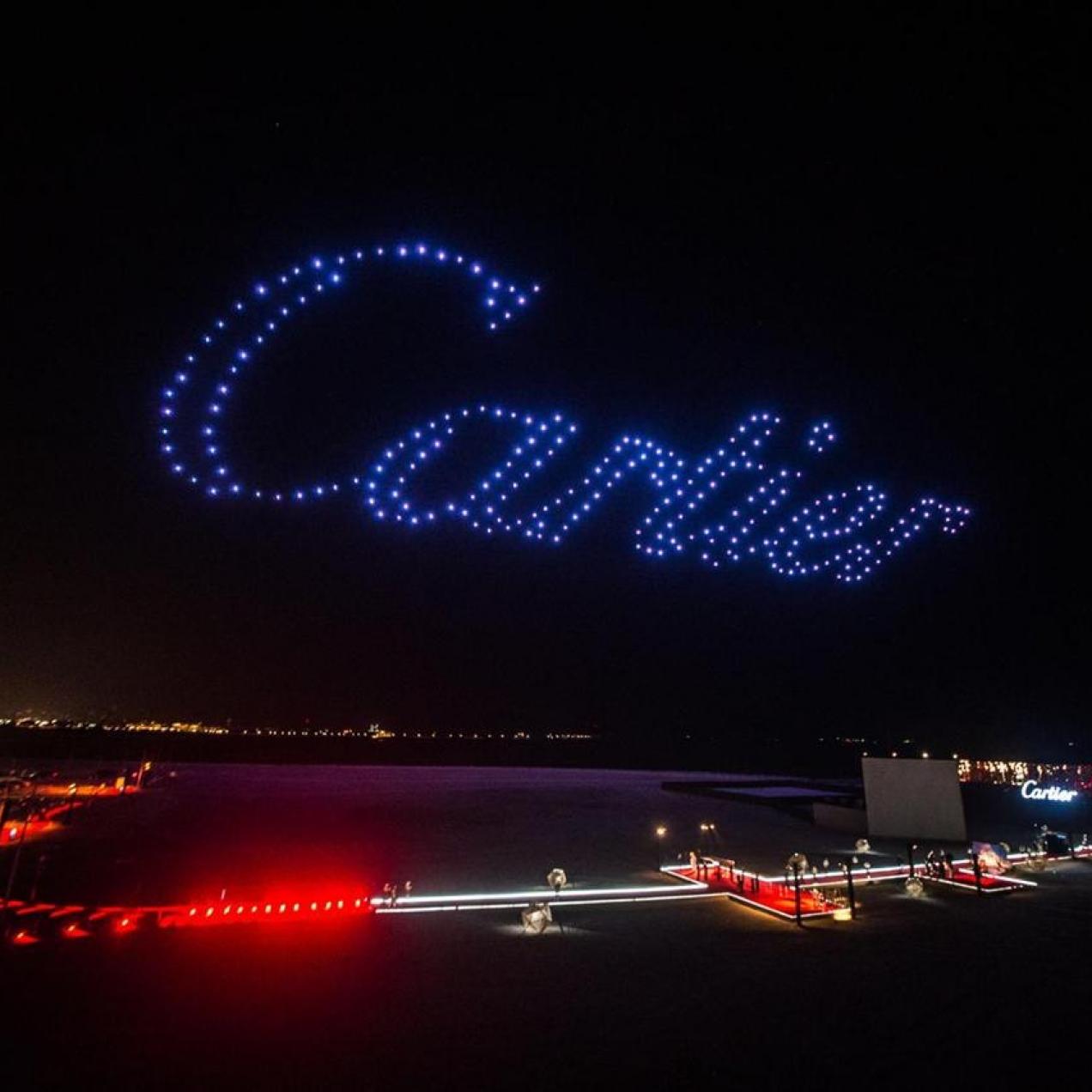 L'événément de Cartier à Dubaï n'était pas un mirage